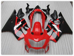 Wholesale Customize free aftermarket FAIRING KIT for Honda CBR600 F4 CBR600 F4 RED Black motocycle fairings parts bodywork windscreen