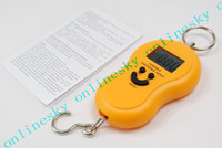 Digital scale   Mini Hand Held Portable Balance Electronic Fish Hook Weigh Digital Scale from 0kg to 45kg