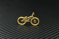 Wholesale Titanium Ti Bicycle Bike Design Spots Pendant for Cyclist Riders DH MTB Street Koxx Sky BMX Monty