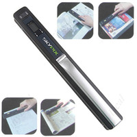 Wholesale 1 quot LCD Cordless Handheld A4 Scanner Handyscan Color Mono Selection with USB TF Card Slot