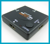 Adapter Composite Guangdong, China (Mainland) 1pcX 3 Port HDMI Switch Switcher Splitter for HDTV 1080P support HDMI 1.4b