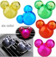 Wholesale Creative Candy Color Air Freshener Perfume Diffuser for Auto Car perfume holder