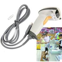 Wholesale USB Handheld Visible Light Laser Barcode Scanner Reader with M Cable for Desktop Laptop