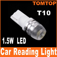 Wholesale LED Car light White Super Bright DC V LED T10 Car Bulb Reading Light Lamp car interior light K496