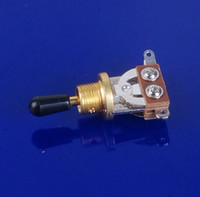 Wholesale 50pcs Way Guitar Selector Pickup Toggle Switch Guitar Parts For Les Paul Gold