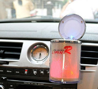 Wholesale The ashtray LED with seven lights and car ashtray