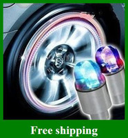 Wholesale hOT Cool Drl Daytime Running Light Wheels Car Led Automobile Tyre Lamp Burst Flash