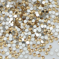 Wholesale 1440PCS gross SS4 mm Lt topaz Non Hotfix Flatback Crystal Rhinestone for Swaroviskii