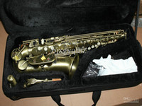 Wholesale NEW Bronze Woodwind alto Saxophone free case Very beautiful