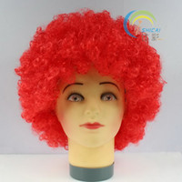 Wholesale Performing wig fans wig hair first explosion Funny wigs fluffy wig