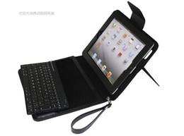 Vente chaude de couleur en cuir sans fil Protecteur de protection clavier Bluetooth pour 2 3 iPad2 iPad3 à partir de ipad2 étui en cuir clavier fournisseurs