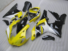 Free Custom Yellow bodywork for YAMAHA YZF R1 2000 2001 YZFR1 00 01 YZF-R1 YZF1000 fairing kit