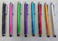 iphone4s cell phone - DHL Free Capacitive Screen metal Stylus Pen Colors For Ipad2 Iphone4s cell phone Tablet PC