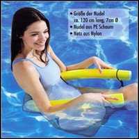 Wholesale 10pc foam swimming chair Noodle hammock floating water chair seat swimming pool river float new FB12