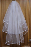 Free shipping New 2T beads Ivory Bridal Bridesmaid Veil + Com...