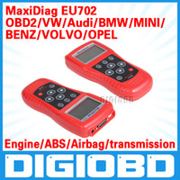 Wholesale Maxidiag EU702 Autel Code Scanner for European Vehicles EU702 For Engine A T ABS and Airbags