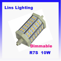 Wholesale Dimmable LED Flood Lights Light source R7S W SMD K K K AC220 V Epistar chip