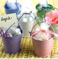 tin pail - Retail Wedding Ceremony Supplies Favors Chocolate Gifts Candy Pails