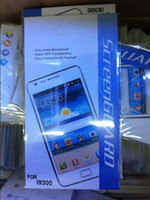 Wholesale Clear Lcd Screen Protector Guard with Cloth Detail package For Samsung Galaxy S III S3 i9300