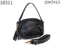 Wholesale China leather handbag leather bag single shoulder bag fashion handbag colours