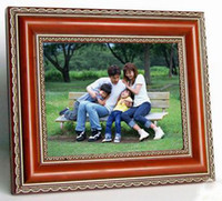 MP3 16.99''-19.99'' SD Card Wholesale - Hot!17 inch wood digital photo frame wooden digital picture frame with MP3 video play