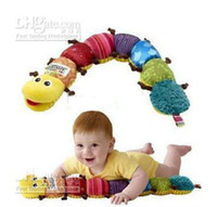 Wholesale Baby LAMAZE multi purpose BB insect Musical Inchworm toy Measure Me Baby Toy Plush Infant toys n