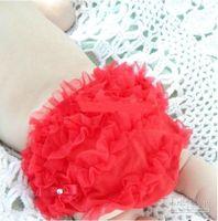 Boy baby bloomers - High quality Baby Ruffled Shorts Bloomers Ruffles Pettiskirt Panties Girls RUFFLED Bloomer PP Wave Dress