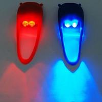 Wholesale Silicone LED Bicycle Bike Safety Flashing Light Lamp