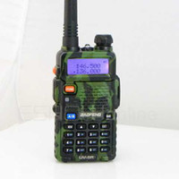 Wholesale BF UV5R Dual Band Walkie Talkie UHF VHF MHz MHz DTMF Two Way Radio A0850M