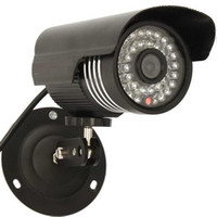 Wholesale 1 quot For Sony CCD TVL Cylinder Type IR30M Waterproof Camera Black