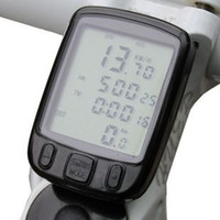 Wholesale NEW Bicycle Functions LCD Computer Odometer Speedometer Cycling Bike