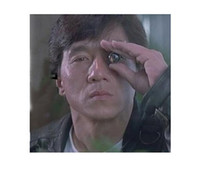 Wholesale 2 X17 Monocular Telescope MINI Thumb Binocle Finger Jackie Chan SPY Hidden Telescopes