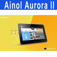 Wholesale Aurora II GB Ainol Novo Tablet PC Android Tablet PC Free screen protector Free Headphones
