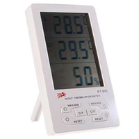 Wholesale quot Digital LCD Humidity Hygrometer and Thermometer with Extra Sensor Cable AAA in