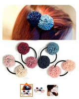 Wholesale whole sale and retail Dual ball head flower hair band
