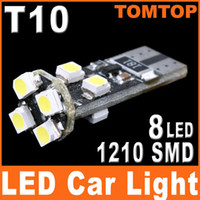 Wholesale T10 W5W CANBUS SMD LED Car Side Wedge Light Lamp car tail lights Decode K511