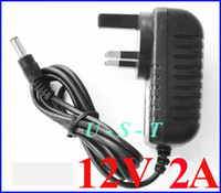Wholesale DC V A mA Power Adapter Supply Charger adaptor UK Plug