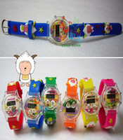 Wholesale silicone jelly table children s electronic watches wrist watches decorative watches