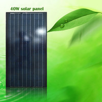 40W Polycrystalline Solar Panel Charger 12V Battery Module(6...