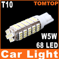 Wholesale T10 W5W White leds SMD LED Car Side Wedge Light turn signal parking Lamp K513