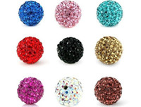 Wholesale 10mm shamballa crystal bead loose beads mix color custom jewelry payment link