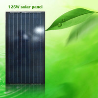 New Arrival!125W Polycrystalline Silicon Solar Panel with Bl...