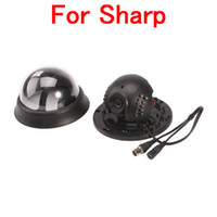 Wholesale For Sharp CCD TVL Ceiling Mounted Type IR LED Indoor Security Camera Black
