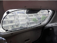 Wholesale Black Rear Window Solar Protection Sunscreen Sun Shade Visor Cover with the Suction Cup fixing