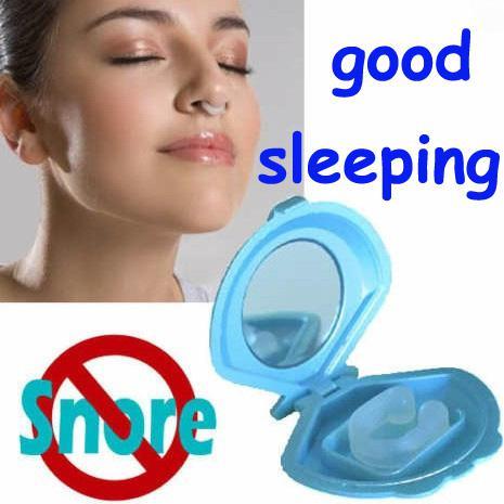 Silicon Stop Snoring Nose Clip Anti Snore Sleep Apnea Help ...