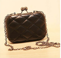 Wholesale Lady PU Hand bag Evening bag Punk wallet Fashion Shoulder bag Clutch bag Handbag colors