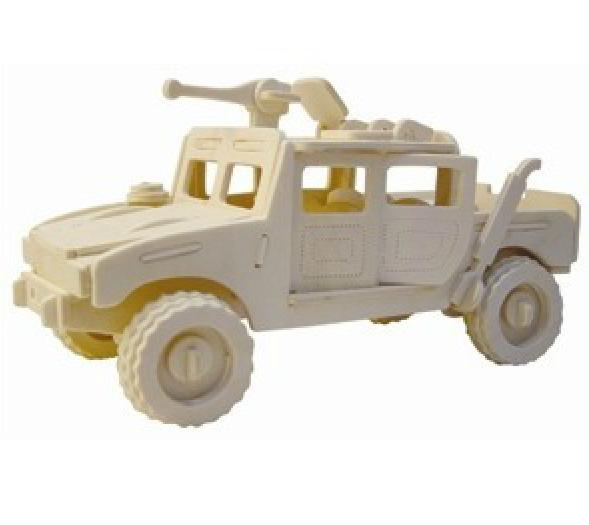 ... Toys Hummer Car Model Cars Educational Toy Woodcraft Kit Free