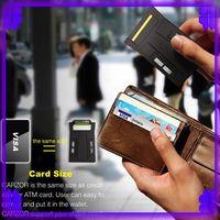 Wholesale 5PCS Card Razor CARZOR shavers Super Portable Card Form Razor into the Wallet