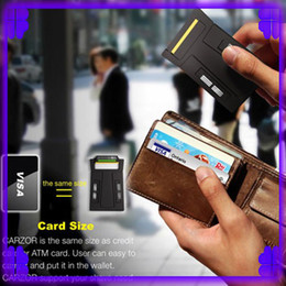 Wholesale 5PCS Card Razor CARZOR shavers Super Portable Card Form Razor into the Wallet