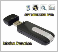Wholesale Spy Camera HD Mini USB Disk Spy Cmera DVR Motion Detect Camera Cam Hidden Camera